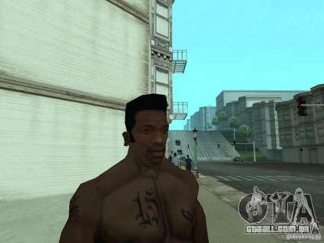 A NOVA CARA DO CJ para GTA San Andreas oitavo tela