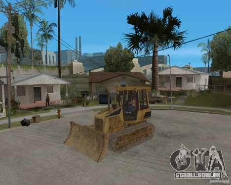 Bulldozer de COD 4 MW para GTA San Andreas