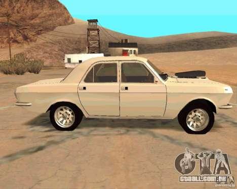 GAZ Volga 2410 Hot Road para vista lateral GTA San Andreas