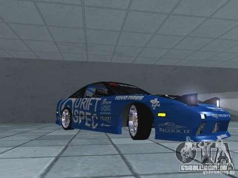 Nissan RPS13 Drift Spec para GTA San Andreas esquerda vista