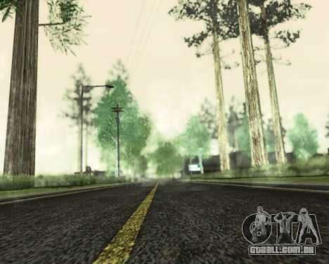 SA_NVIDIA v 1.0 para GTA San Andreas terceira tela
