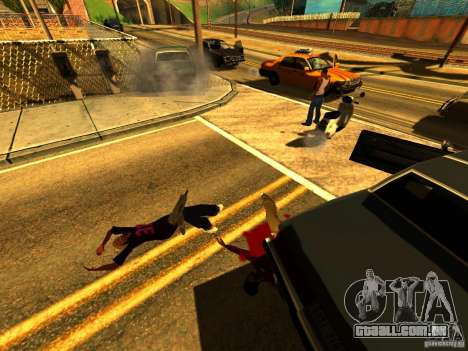 Real Kill para GTA San Andreas quinto tela
