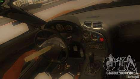 Mazda RX7 Veilside para vista lateral GTA San Andreas