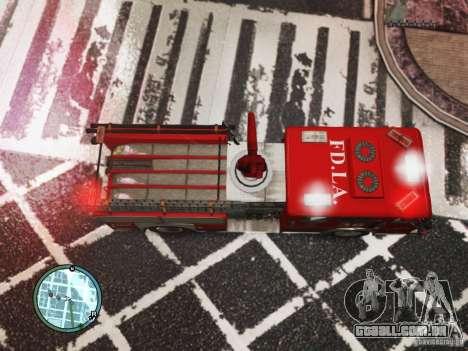 New LCFD Car para GTA 4 vista de volta