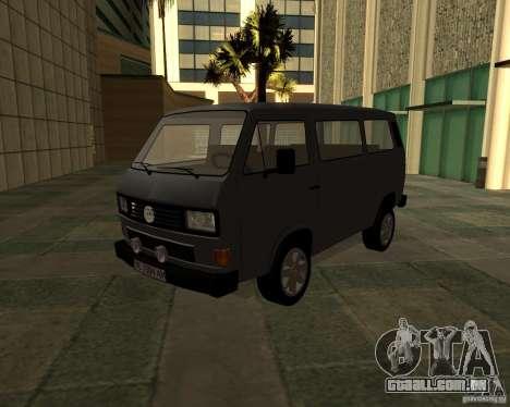 Volkswagen Transporter T3 para GTA San Andreas