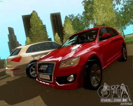 Audi Q5 para GTA San Andreas esquerda vista