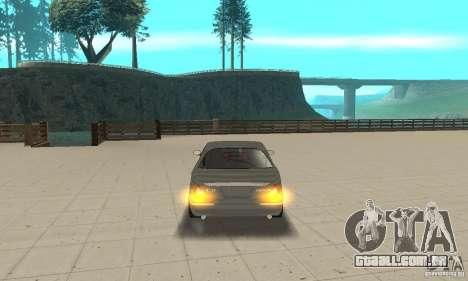 Luzes de canto universal para GTA San Andreas terceira tela