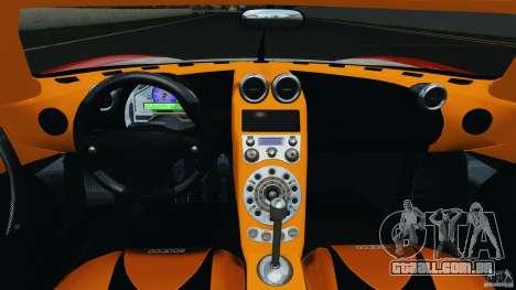 Koenigsegg CCX 2006 v1.0 [EPM][RIV] para GTA 4 vista de volta