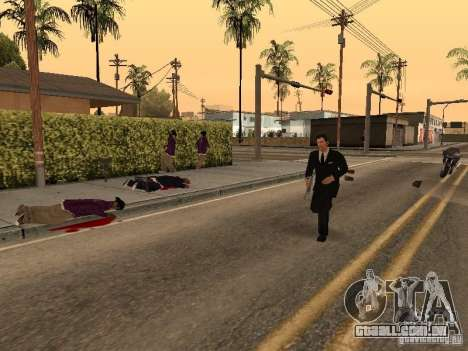 Tommy Vercetti para GTA San Andreas terceira tela