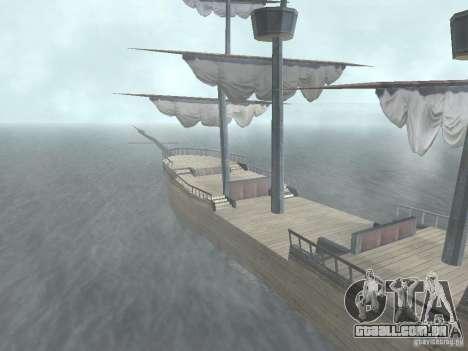 Navio pirata para GTA San Andreas segunda tela