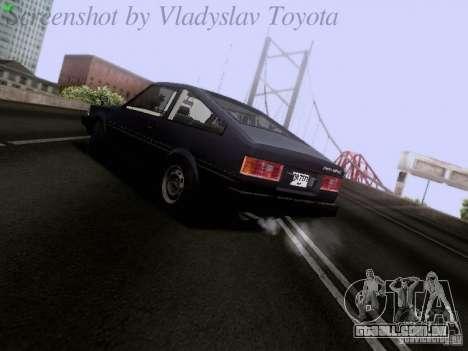 Toyota Corolla TE71 Coupe para GTA San Andreas vista direita