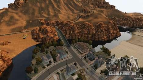 Red Dead Desert 2012 para GTA 4 nono tela
