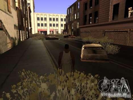 Chernobyl MOD v1 para GTA San Andreas décimo tela