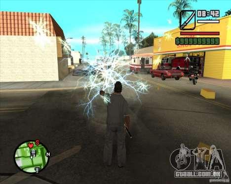 Chidory Mod para GTA San Andreas quinto tela