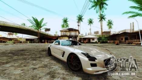 ENBSeries by egor585 para GTA San Andreas por diante tela