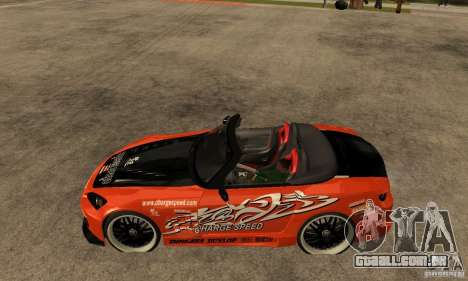 Honda S2000 CHARGESPEED para GTA San Andreas esquerda vista