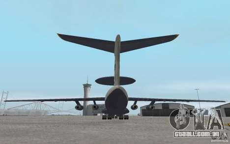 Berijew A-50 Mainstay para GTA San Andreas vista direita