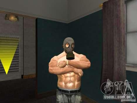 Máscara de gás para GTA San Andreas