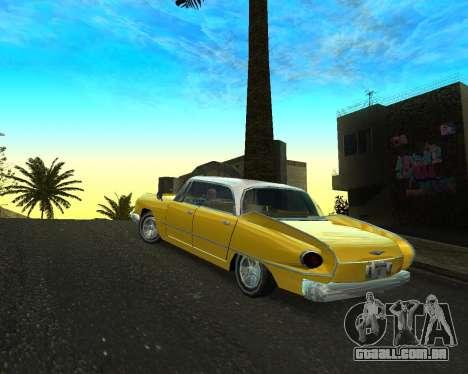 Dodge Polara para GTA San Andreas esquerda vista