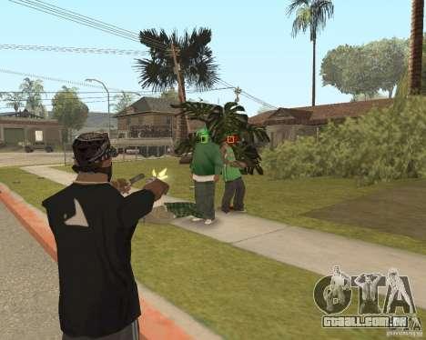 Mark and Execute para GTA San Andreas por diante tela