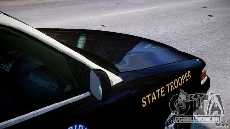 Ford Crown Victoria Fl Highway Patrol Units ELS para GTA 4 motor