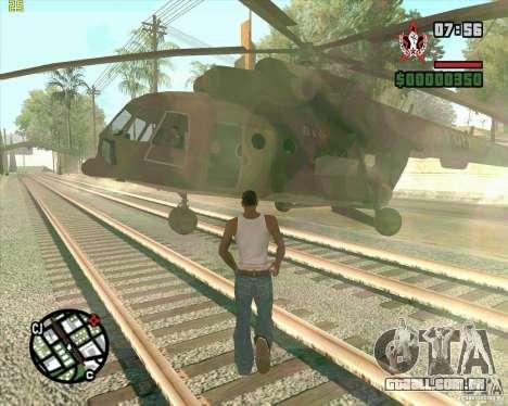 Chamada Cargobob para GTA San Andreas
