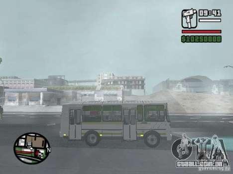 Paz-32054 para GTA San Andreas vista direita