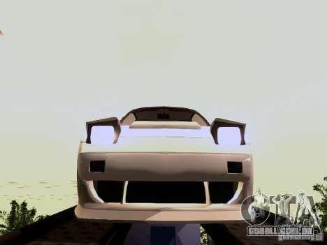 Nissan 240SX (S13) para GTA San Andreas vista direita