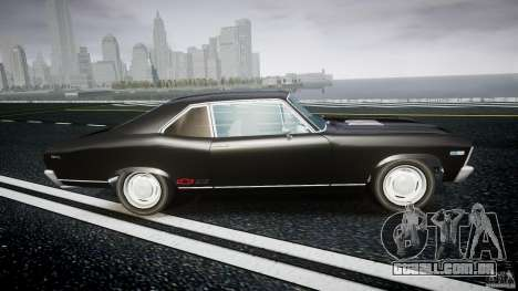 Chevrolet Nova 1969 para GTA 4 vista interior