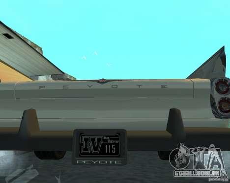 Peiote de GTA 4 para GTA San Andreas vista direita