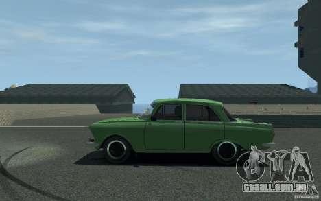 Moskvich 412 para GTA 4 esquerda vista