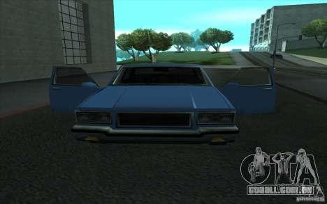 Civilian Police Car LV para GTA San Andreas traseira esquerda vista