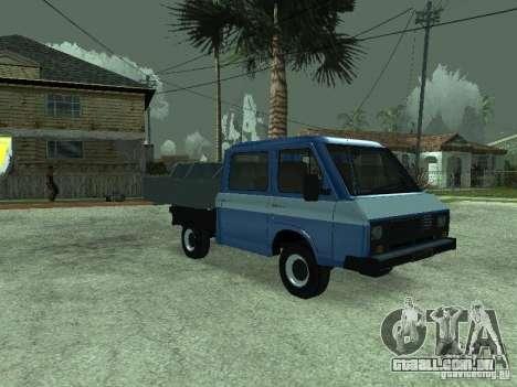 RAPH 3311 Pickup para GTA San Andreas vista direita