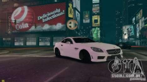 Mercedes-Benz SLK55 R172 AMG 2011 v1.0 para GTA 4 vista direita