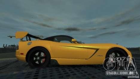 Dodge Viper SRT-10 ACR 2009 para GTA 4 esquerda vista