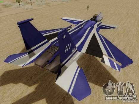 F-15 SMTD para GTA San Andreas vista direita