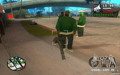 Novas armas de gangues para GTA San Andreas