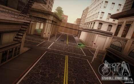 New roads San Fierro para GTA San Andreas sexta tela