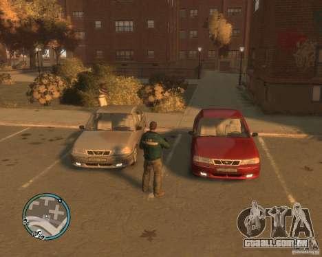 Daewoo Nexia DOHC para GTA 4 vista de volta