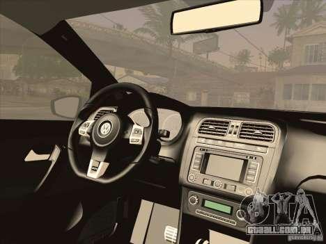 Volkswagen Polo GTI 2011 para GTA San Andreas vista direita