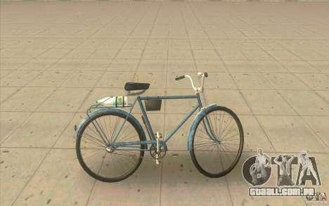 Versão de moto Ural-sujo para GTA San Andreas esquerda vista