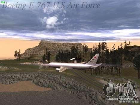 Boeing E-767 U.S Air Force para o motor de GTA San Andreas