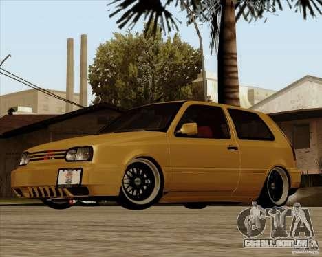 VW Golf MK 4 low & slow para GTA San Andreas
