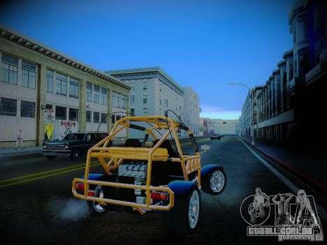Buggy From Crash Rime 2 para GTA San Andreas vista direita
