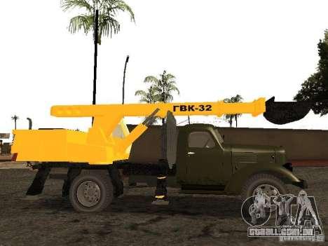 ZIL 157 GVC-32 para GTA San Andreas esquerda vista