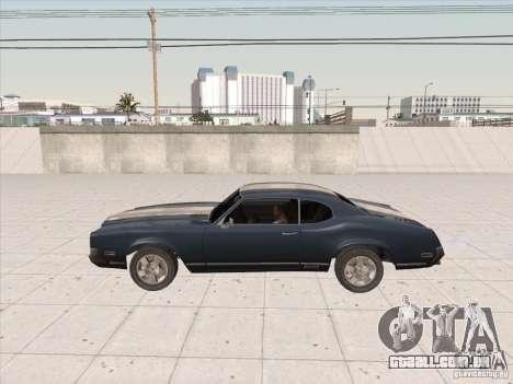 Sabre HD para GTA San Andreas traseira esquerda vista