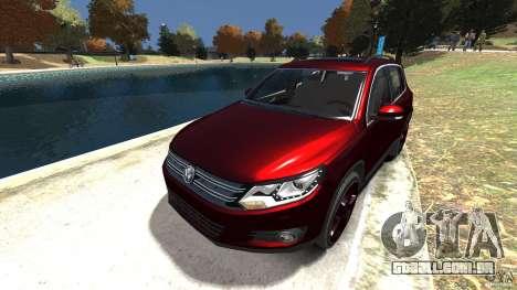 Volkswagen Tiguan 2012 para GTA 4 vista lateral