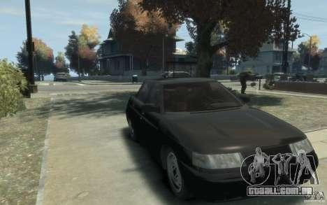 Lada VAZ 2110 para GTA 4 vista de volta