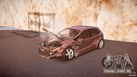 Volkswagen Polo 2011 para GTA 4 interior
