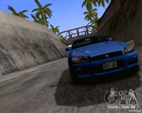 ENBSeries by Sankalol para GTA San Andreas terceira tela